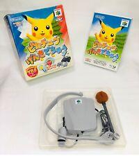 Hey You Pikachu - Genki Dechuu vrs MIC SET BOXED N64 Nintendo 64 - Japan NTSC-J