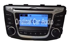 2012 2013 2014 Hyundai OEM Accent Radio SAT Bluetooth CD Player Receiver