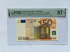 Deutschland Germany 50 EURO 2002 P#4x NGC PMG67 Erste Ausgabe European Union