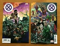 Powers of X 6 R. B. Silva Main Cover + Javi Garron Connecting Cover Marvel NM