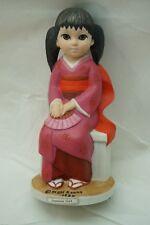 MARGARET KEANE BIG EYES FIGURINE JAPANESE GIRL KIMONO VINTAGE 1980 DAVE GROSSMAN