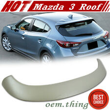 New Mazda 3 Hatchback 5DR OE Rear Roof Spoiler Wing ABS 2014-2016