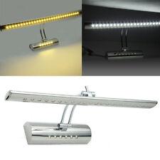 Bathroom Mirror Front Makeup Shaving Bright LED Light Wall Lamp Angle Adjustable