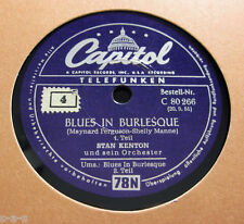 """Nice Price: Stan Kenton & Orchester - """"Blues In Burlesque"""" 1&2  CAPITOL (982)"""