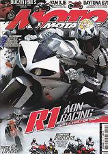MOTO ET MOTARDS N° 125 . MONSTER 1100 S  BUELL 1125 CR  CB 1000 R  FZ1  XJ6