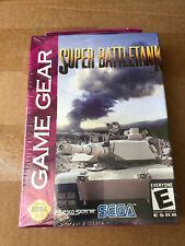 "JEU VIDEO GAME GEAR ""SUPER BATTLE TANK"" NEUF SOUS BLISTER VINTAGE RARE 90'S"