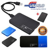 "2.5 "" USB3.0/USB2.0 SATA SSD HDD Festplatte LED Disk Dock Gehäuse Hülle Statio"