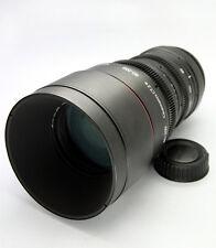 Customized cine lens AF Zoom-Nikkor 80-200mm f/2.8D ED  for EOS DSLR Cameras Pro
