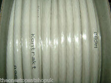 100m RG6 White Satellite Aerial Cable Digital Coax Sky