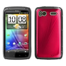 Red Cosmo Hard Case Phone Cover for HTC Sensation 4G