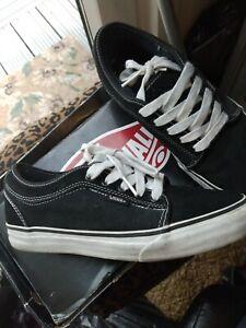 Black Vans Chukka Low UK Size 6