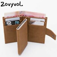 RFID Card Holder And Minimalist Wallet Metal Men Women Single Box For Cards