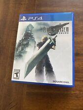 Final Fantasy Vii: Remake (PlayStation 4, 2020) Complete