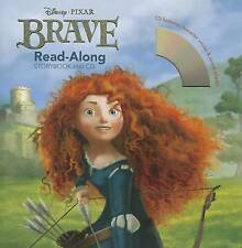 NEW Brave Read-Along Storybook and CD by Disney Book Group