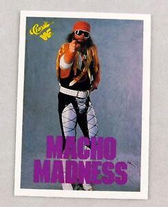 Macho Man Randy Savage WWF Classic Wrestling Trading Card wwe nxt wrestler #105