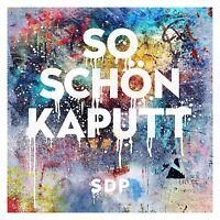 SDP - SO SCHÖN KAPUTT   CD SINGLE NEU