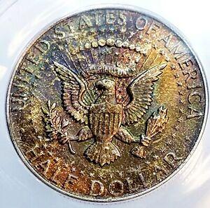 1964-D Silver Kennedy Half Dollar ANACS MS66
