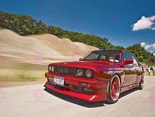 PHOTOGRAPH BMW M3 SERIES 3 E30 CAR AUTOMOBILE RED MOTION POSTER PRINT LV10661