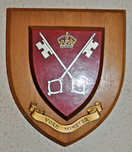 York Minster wall plaque shield crest coat of arms