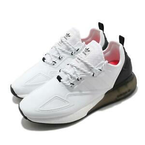 adidas Originals ZX 2K Boost White Black Men Casual Lifestyle Sneakers S42834