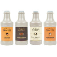 Monin 64 oz. Flavoring Sauce (Choose from 6 Flavors)