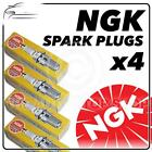 4x NGK SPARK PLUGS Part Number BPMR6A Stock No. 6726 New Genuine NGK SPARKPLUGS