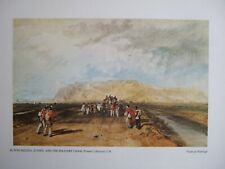 MODERN FINE ART PRINT -WINCHELSEA SUSSEX AND THE MILITARY CANAL BY TURNER