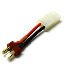61027 Adapter Cable Compatible Tamiya Large Female to T-Plug Male 1/8 HSP