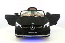 Mercedes CLA45 12V Kids Ride-On Car with R/C Parental Remote | Matt Black