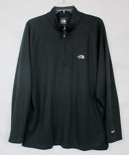 THE NORTH FACE Men's XL VaporWick 1/2 Zip Dark Gray Flight Series Pullover Shirt