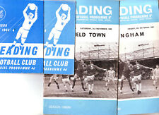 READING 1960's v BRENTFORD, GILLINGHAM & MANSFIELD (2) VGC,
