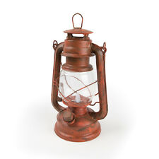 NEBO 6642 Old Red Traditional Look LED Lantern with Flickering Flame