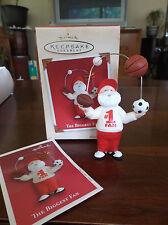 "Hallmark Keepsake Ornament""The Biggest Fan"" Santa (2002)"