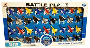 36 pcs Fighter Jet Planes War Battle Aviation Model Planes Plane Kids Toy Gift