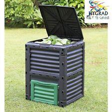 Large Garden Composter Bin Organic Waste Compost Converter Eco Friendly - 300L