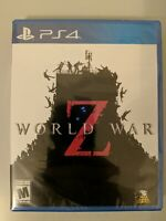 World War Z (PlayStation 4, 2019) *New Sealed*