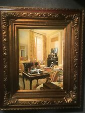 In The Parlor Framed Oil On Board By Sam Lee
