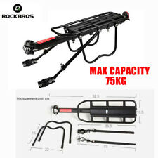 Rockbros MTB Bike Bicycle Pannier Rear Rack Carrier Bracket Luggage Max 75KG