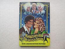 KNOCKING AT HEAVEN'S DOOR John Linton BRUCE LEE 1980 hcdj MOVIE TIE IN BOOK