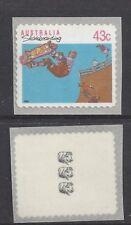 Reprint Stamps 43c Skateboarding Self Adhesive 3K