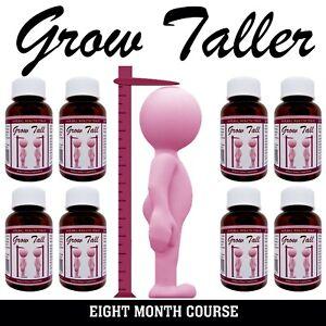 Bone Growth Treatment SAFELY GROW - BE TALLER 8 Bottles Male/Female GT
