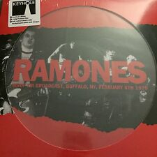 Ramones ‎– Live In Buffalo, February 8, 1979  PICTURE DISC VINYL LP New & Sealed
