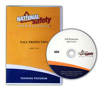 Fall Protection Safety Training Kit W/ Employee Quiz, Certificate, and More