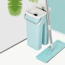 Magic Microfiber Cleaning Mops Flat Squeeze Automatic Home Kitchen Floor Cleaner