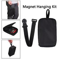 Universal Magnetic Hanger Strap Kit For Fluke TPAK Multimeter With Cloth Bag