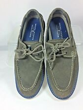 Skechers Mark Nason Grey Suede Men's Lace Up Loafers Size 7