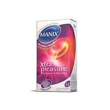 Pharmacie Intime Préservatifs Xtra Pleasure par 14 - MANIX