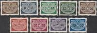 Stamp Germany Poland General Gov't Official Mi 16-24 Sc NO16-24 WWII War MNG