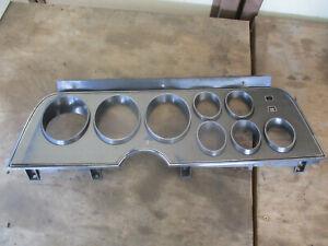 1975 76 77 78 79 Ford Ranchero Torino Thunderbird sport gauge Cluster BEZEL
