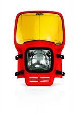 ACERBIS ELBA CLASSIC  HEADLAMP headlight enduro motocross headlight  red